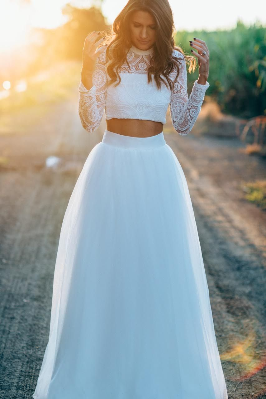 42 HOT CHIC WAY OF WEARING A TULLE SKIRT | Tulle skirts, Wedding and ...