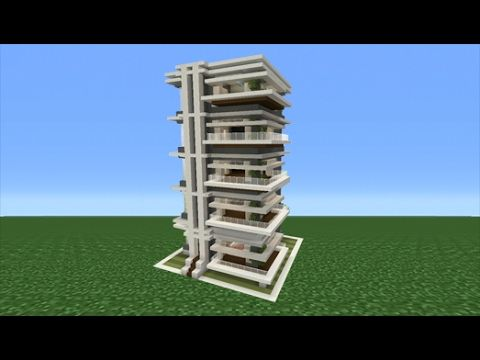Minecraft Tutorial: How To Make A School Interior/Exterior