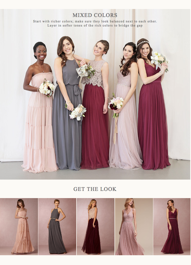 b0d8d8d9a00 How to create the perfect fall bridal party look with  bhldn  bhldn   bridesmaids  bridesmaiddresses