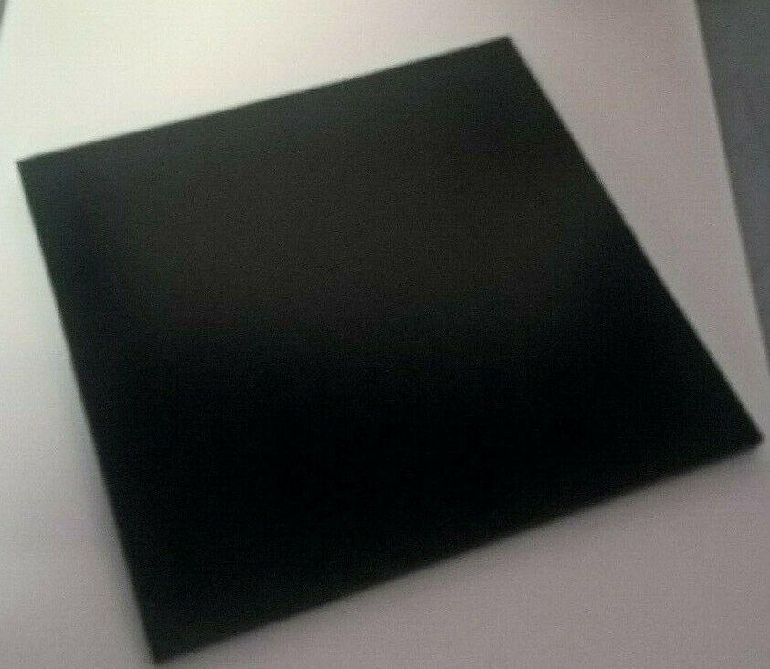 Hdpe High Density Polyethylene Plastic Sheet 3 8 X 11 3 4 X 11 5 8 Black Hdpe Plastic Sheets Hdpe Plastic Sheet
