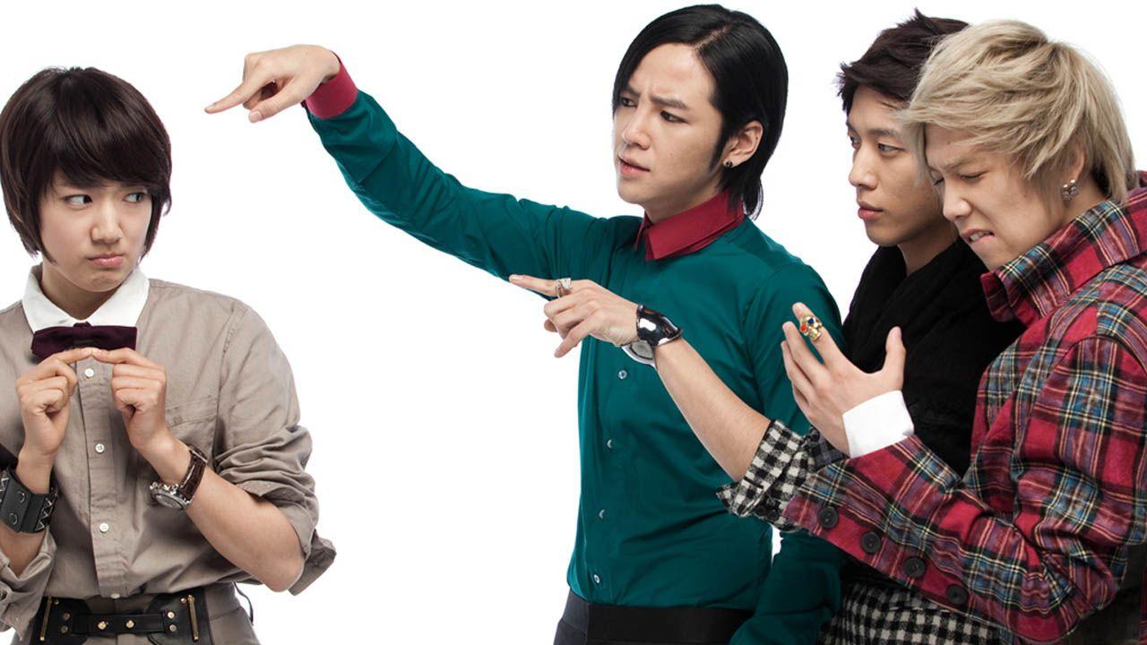 Korean Dramas Wallpaper You Re Beautiful Korean Drama Korean Drama Series Drama Korea