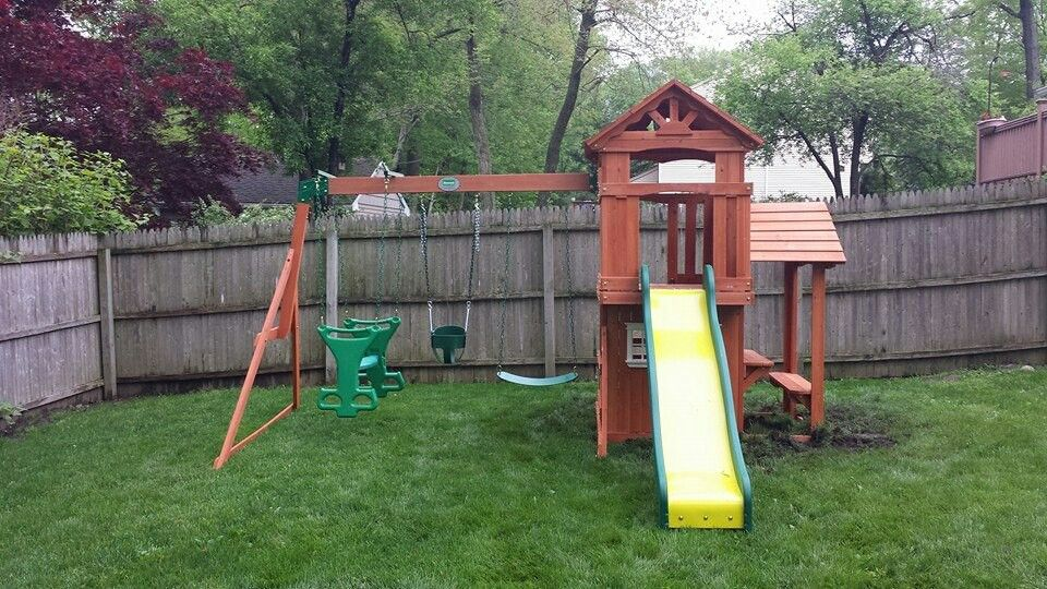 Backyard Discovery Tanglewood Playset From Installed In Waldwick, NJ.