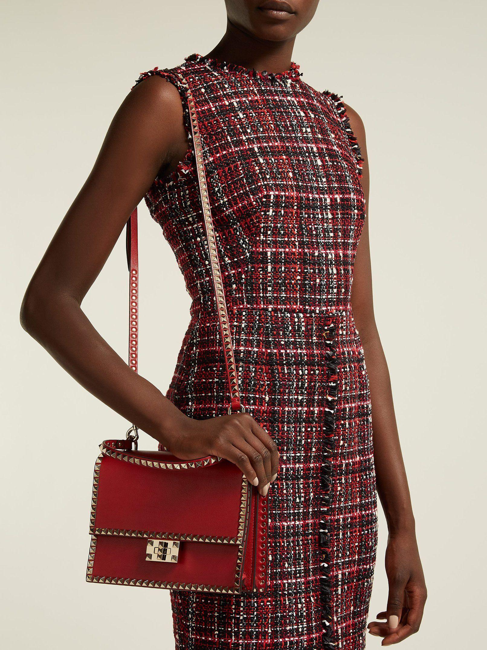 c4a6f8a07d9 Rockstud No Limit leather cross-body bag | Valentino | MATCHESFASHION.COM UK
