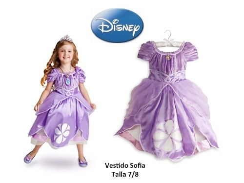 Vestido Princesa Sofia Disney Original Princesa Sofía