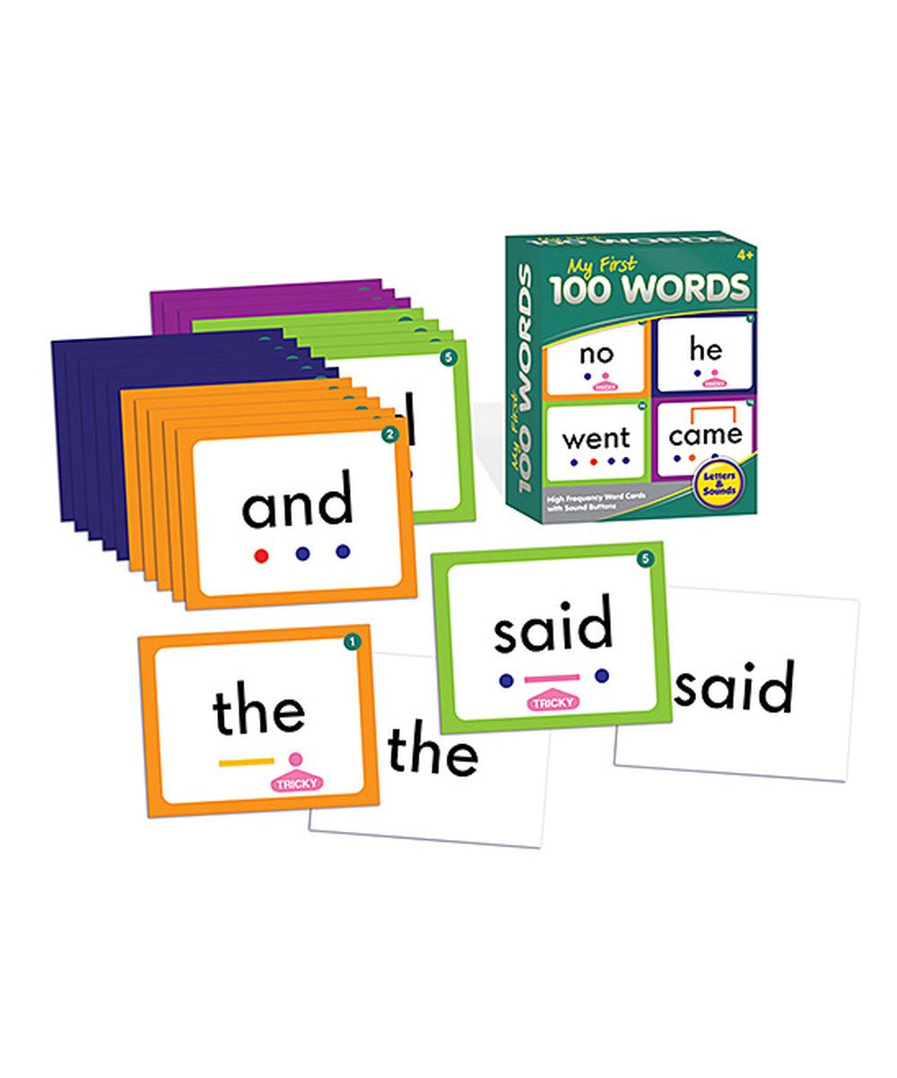 Look at this My First 100 Words on zulily today! 100