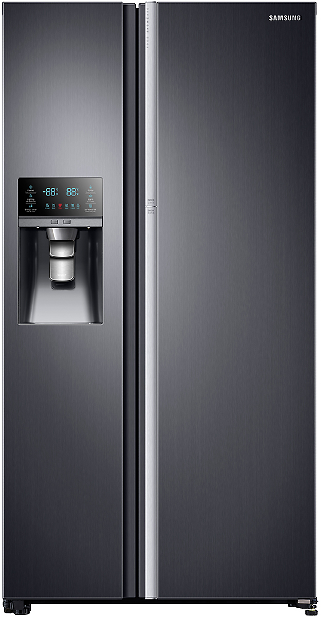 Samsung Rh22h9010sg 36 Inch Counter Depth Side By Side Refrigerator With Food Showcase Door Ice And Water Dispenser Power Cool Power Freeze In Door Ice Make Energy Star Refrigerator Samsung Refrigerator Repair Side By