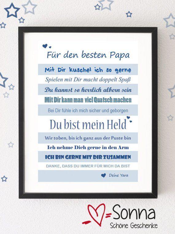 PDF *Papa * Für den besten Papa * Papi * Bester Papa * Vatertag * PDF