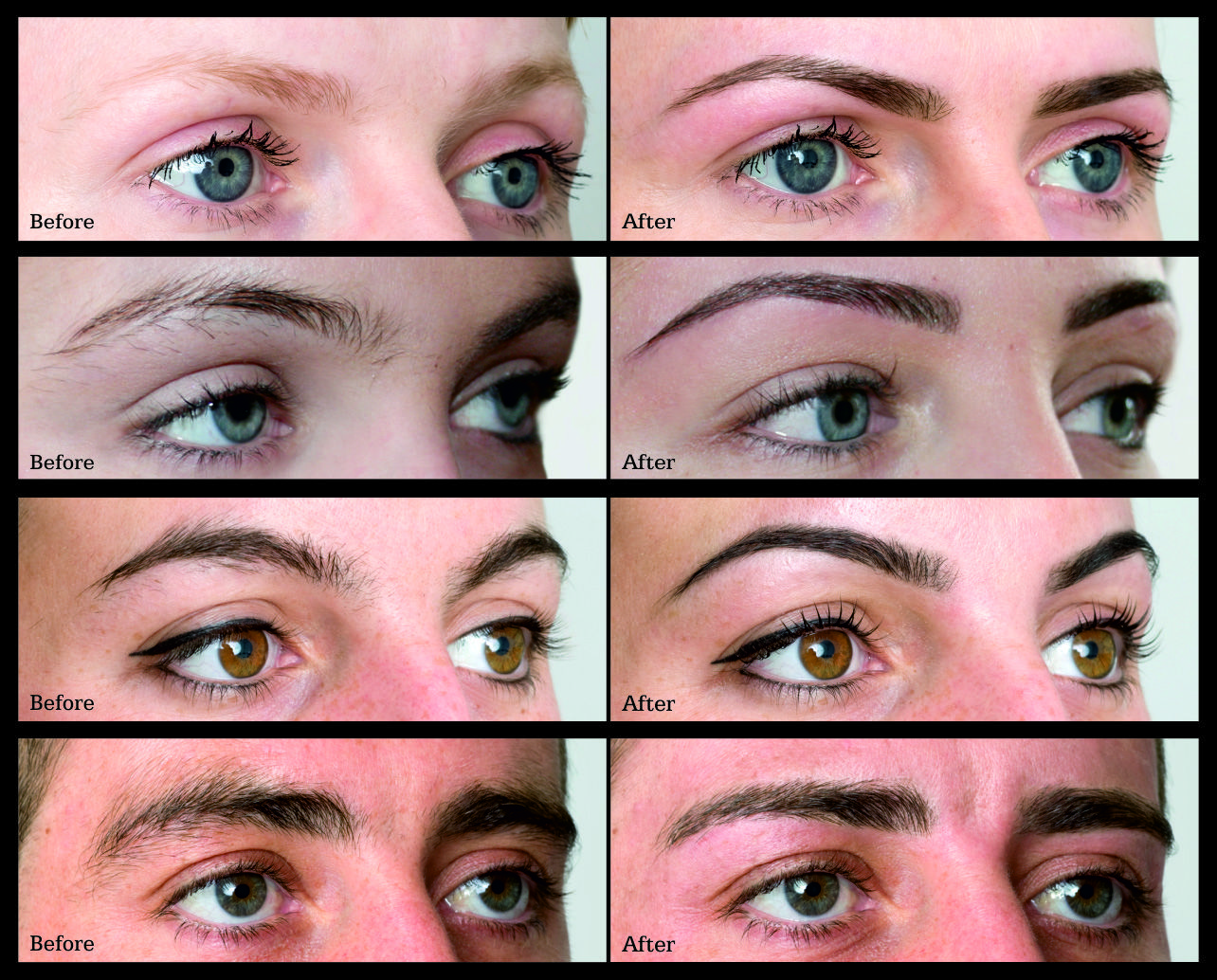 Hd Brows 7 Steps To The Perfect Brow Before And Afters Before