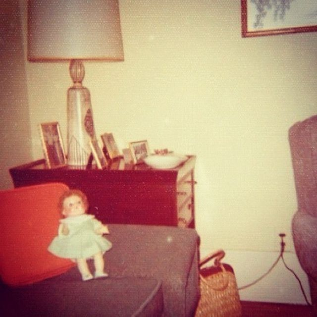 Vintage Photo 1960s Interior With Doll | Flickr - Photo Sharing!