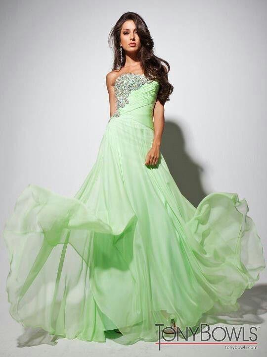 f2d129f05d Light green gown | Gowns | Prom dresses, Dresses, Formal dresses