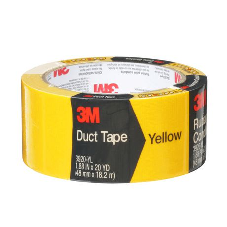 3m Multi Purpose Duct Tape 3920 Yl Yellow Duct Tape Tape Party Supplies
