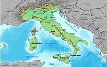 Liste Der Stadte In Italien Wikipedia Landkarte Italien