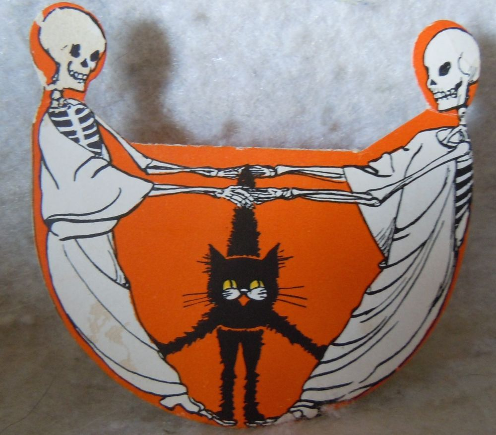 VINTAGE HALLOWEEN PARTY FAVOR FORTUNE-GREAT GRAPHICS