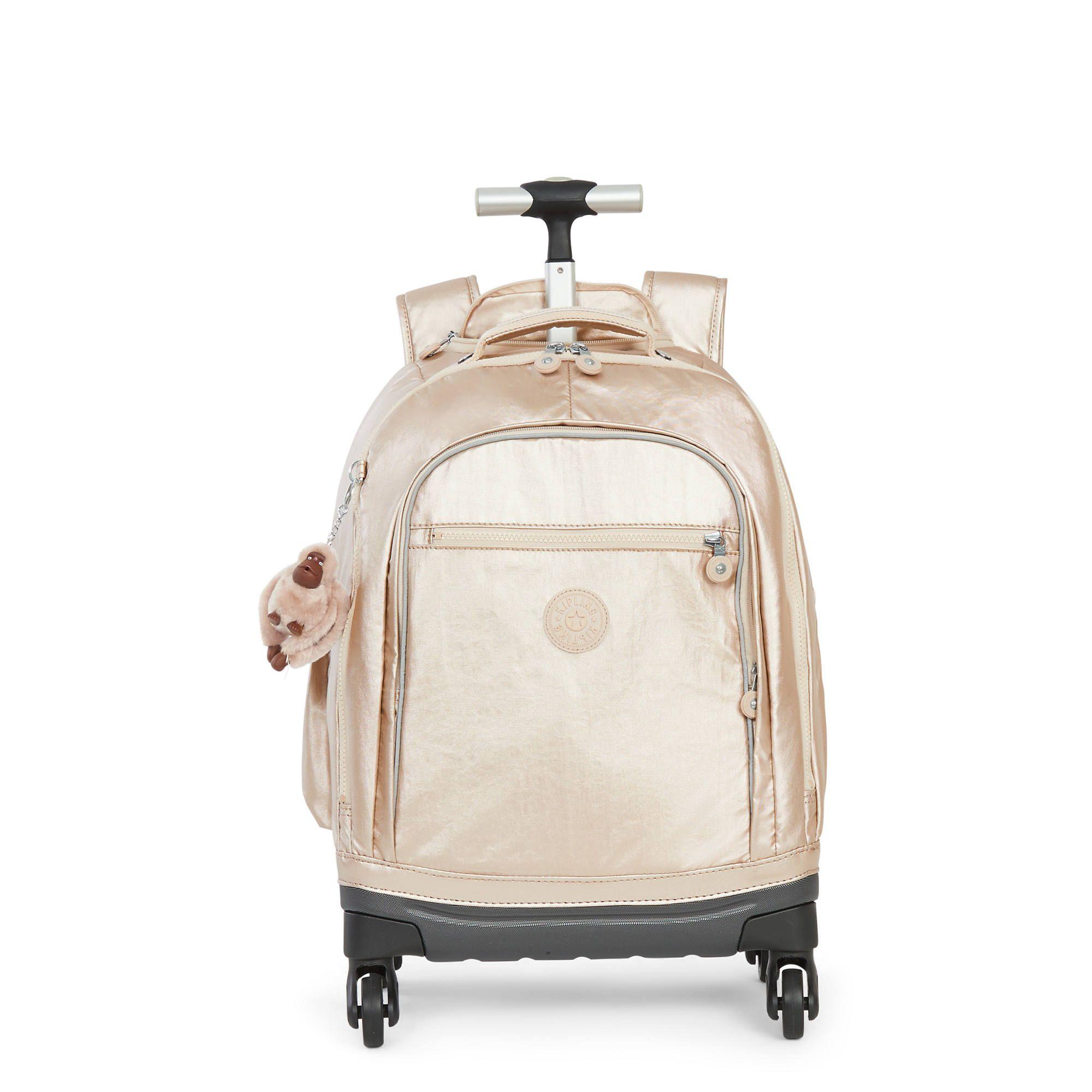 Echo II Metallic Rolling Backpack   Rolling backpack, School