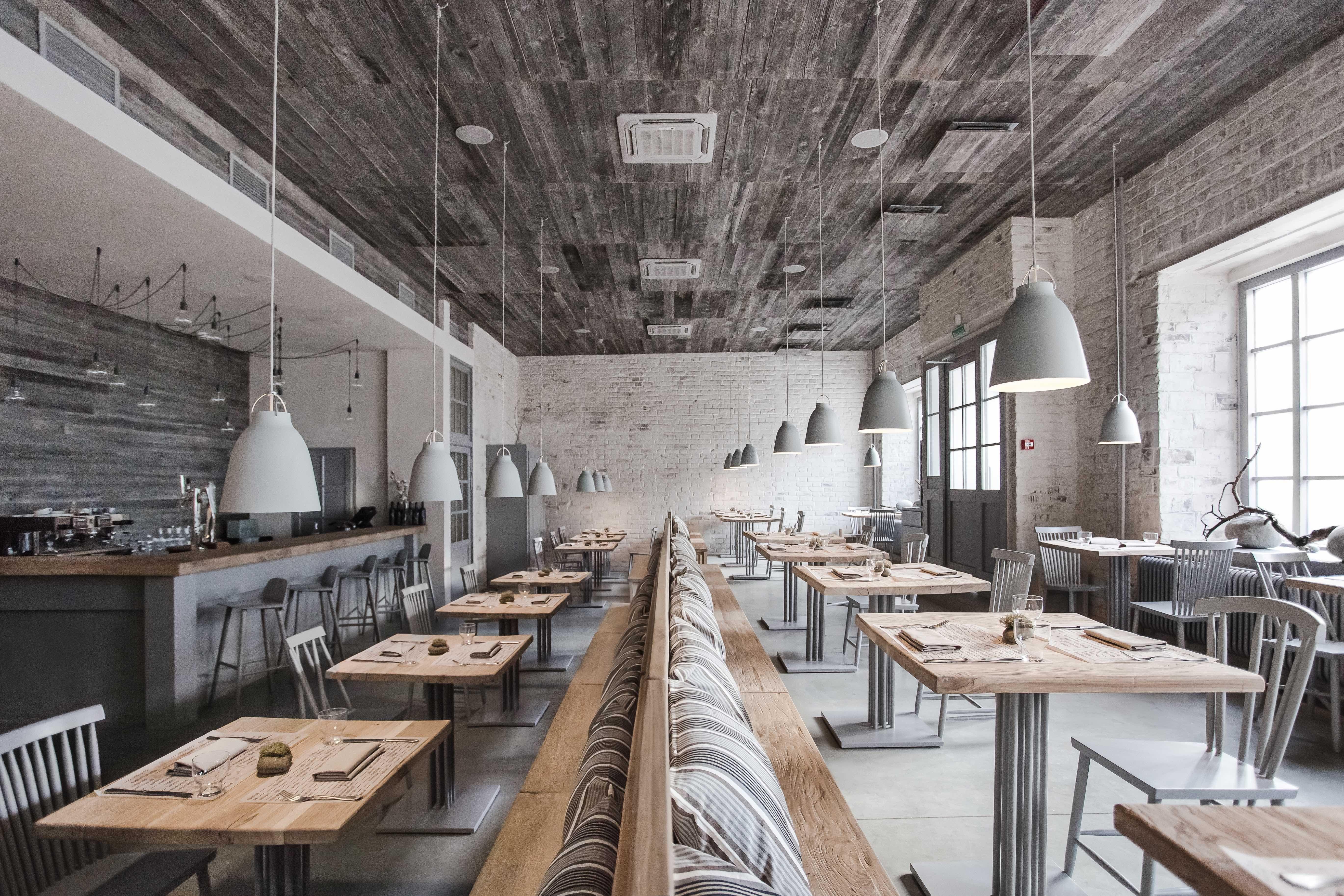 New nordic restaurant Bjorn BJ–RN MOSCOW