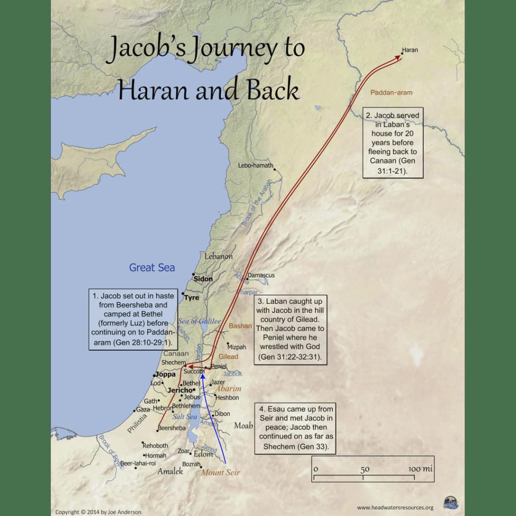 Patriarchs Maps Set 7 Pro Series Bible Maps