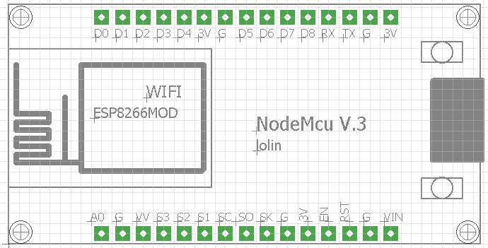 Eagle Library lolin NodeMcu V3 | NodeMcu en 2019