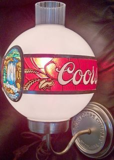 Coors Bar Lights Antique Rare Adolph Coors Beer Bar Pub Club Man Cave Sconce Wall Light Golden Pub Signs Bar Lighting Beer Bar