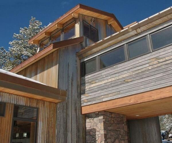 Corrugated Metal Ideas For The Home Corrugated Metal Steel Siding Metal Siding