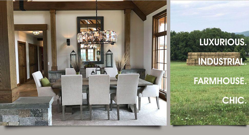 Farmhouse chic dining room interiors by hom also interior hominteriorsusa on pinterest rh