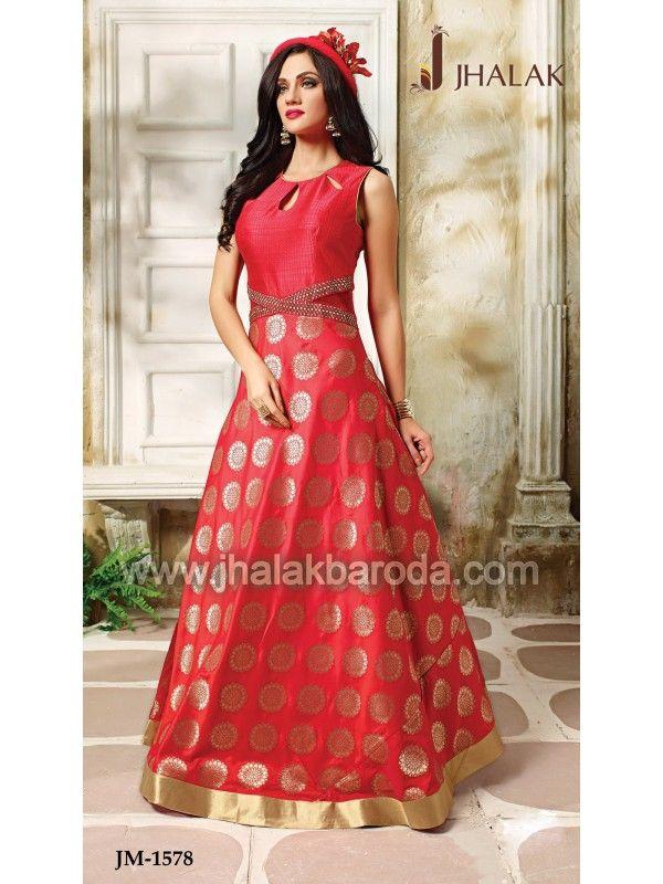 Designer Anarkali Dress- JM-1578