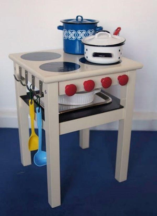 Reciclar muebles 6 ikea hacks para ni os muebles ikea - Ikea cocina infantil ...