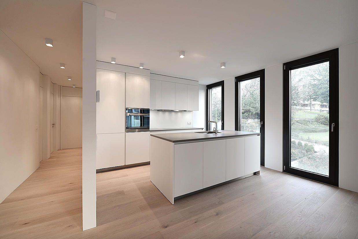 Splendide cucine varenna poliform per gli appartamenti della residenza lucino 32 a lugano - Design cucine moderne ...