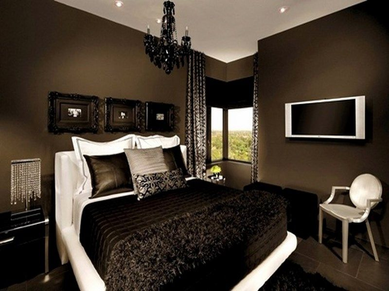 Best Chocolate Brown And White Bedroom Google Search Home 400 x 300