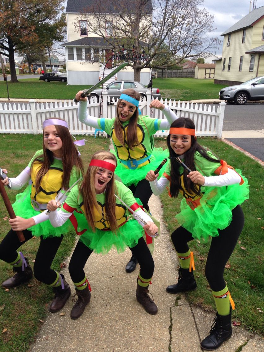 group halloween costume teenage mutant ninja turtles | halloween