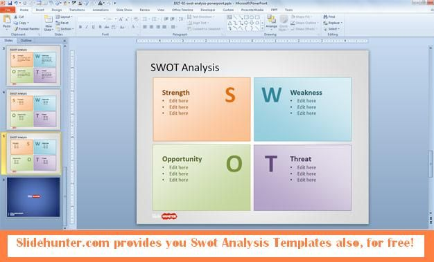 Download Swot Analysis Powerpoint Templates For Free And Create