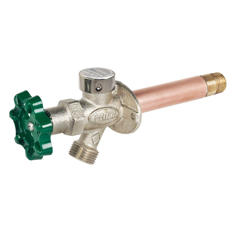 Prier Products 1 2 In X 4 In Brass Mpt X Swt Heavy Duty Frost Free Anti Siphon Outdoor Faucet Hydrant Faucet Handle Pex Tubing