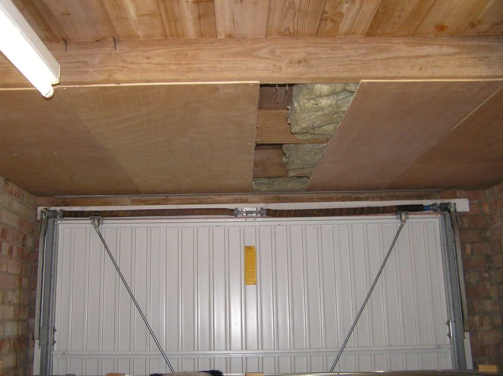 As You Go Insulation For Garage Ceiling Luan Insulation