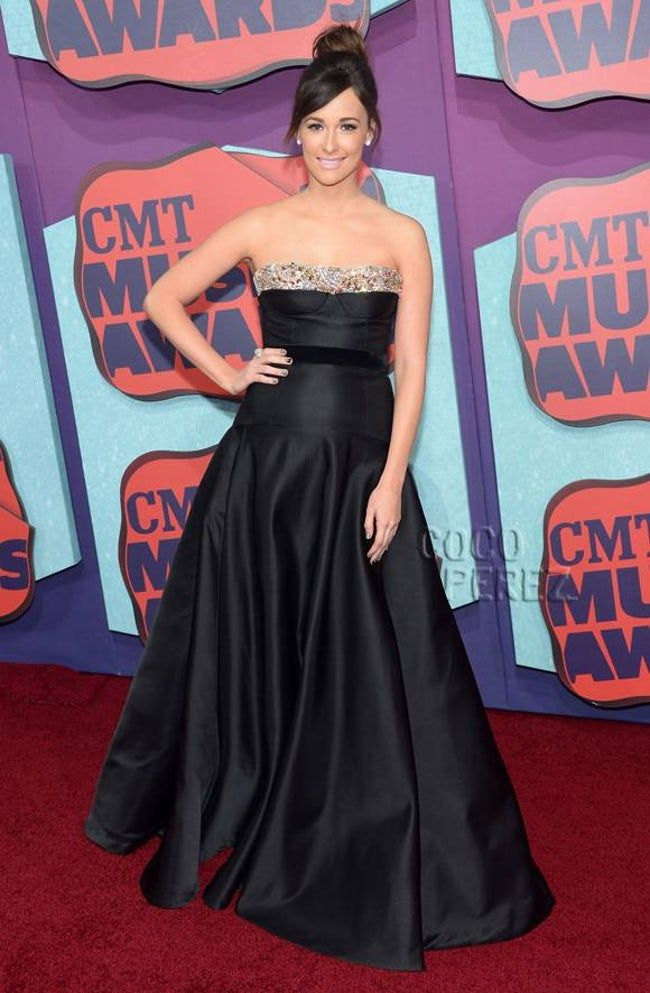 Kacey Musgraves in a Black Str is listed (or ranked) 17 on the list Hottest Kacey Musgraves Photos