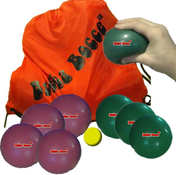 Bubbabocce Tm Indoor Bocce Ball Sets Designed To Simulate Usa