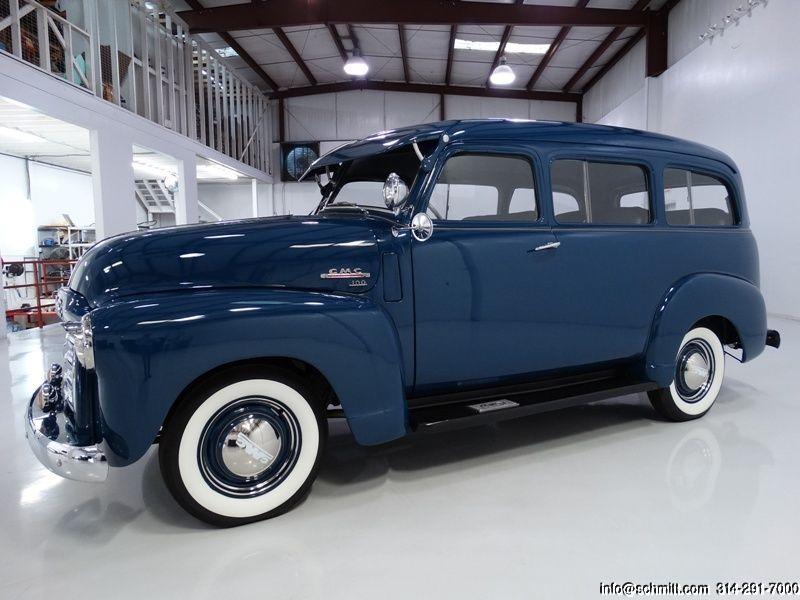 Daniel Schmitt Co Classic Car Gallery Presents 1949 Gmc Suburban Gmc Trucks Chevrolet Suburban Gmc
