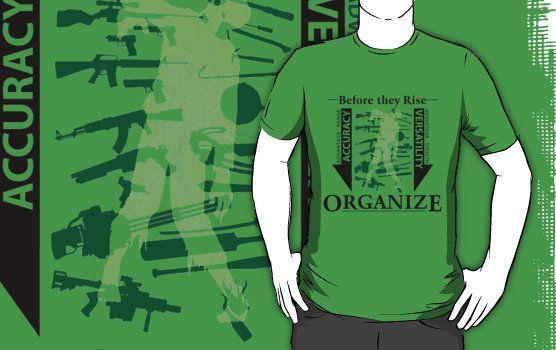 """Apocalyptic Organization"" T-Shirts & Hoodies by deadgreysnow | Redbubble"