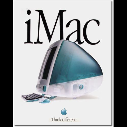 Original iMac Poster Apple コンピューター, Apple 製品, コンピューター
