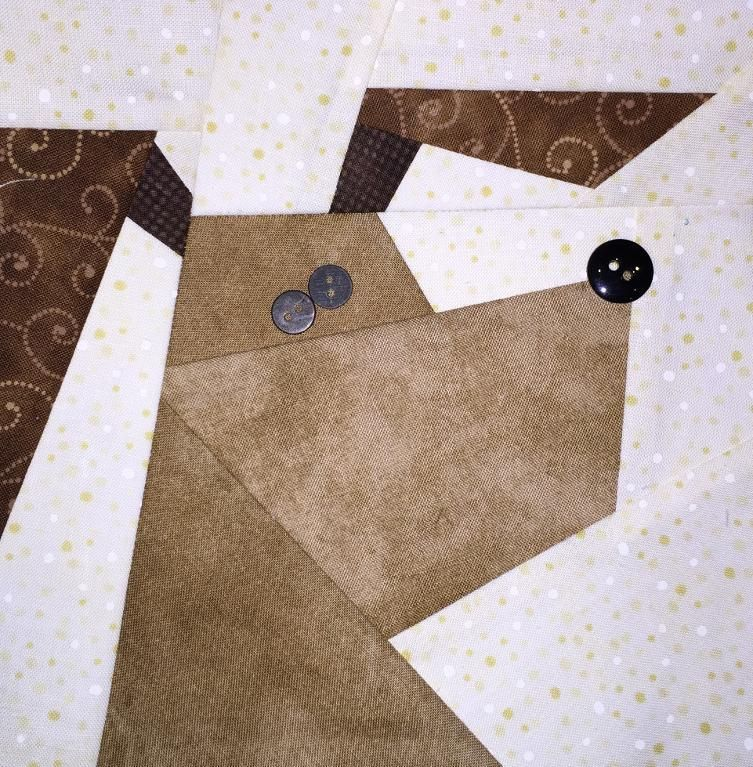 Cats N\' Dogs Paper Pieced Pattern