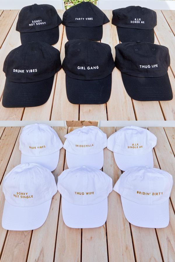 R.I.P. Single Me | R.I.P. Sober Me - Bachelorette party dad hats
