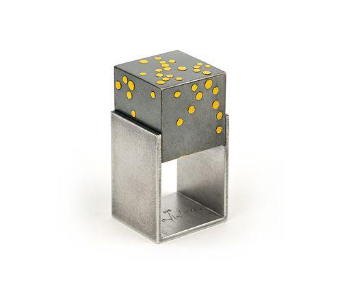 Helfried Kodré  Ring: Untitled 2012  Silver, gold