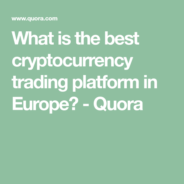 best cryptocurrency quora