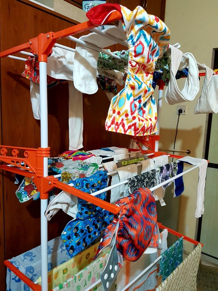 Cloth diaper laundry my wash routine cloth diapers new