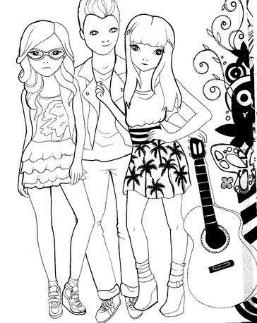 Roxy Fausta und Diego von Violetta, Fausta, Diego, Roxy, Violetta ...