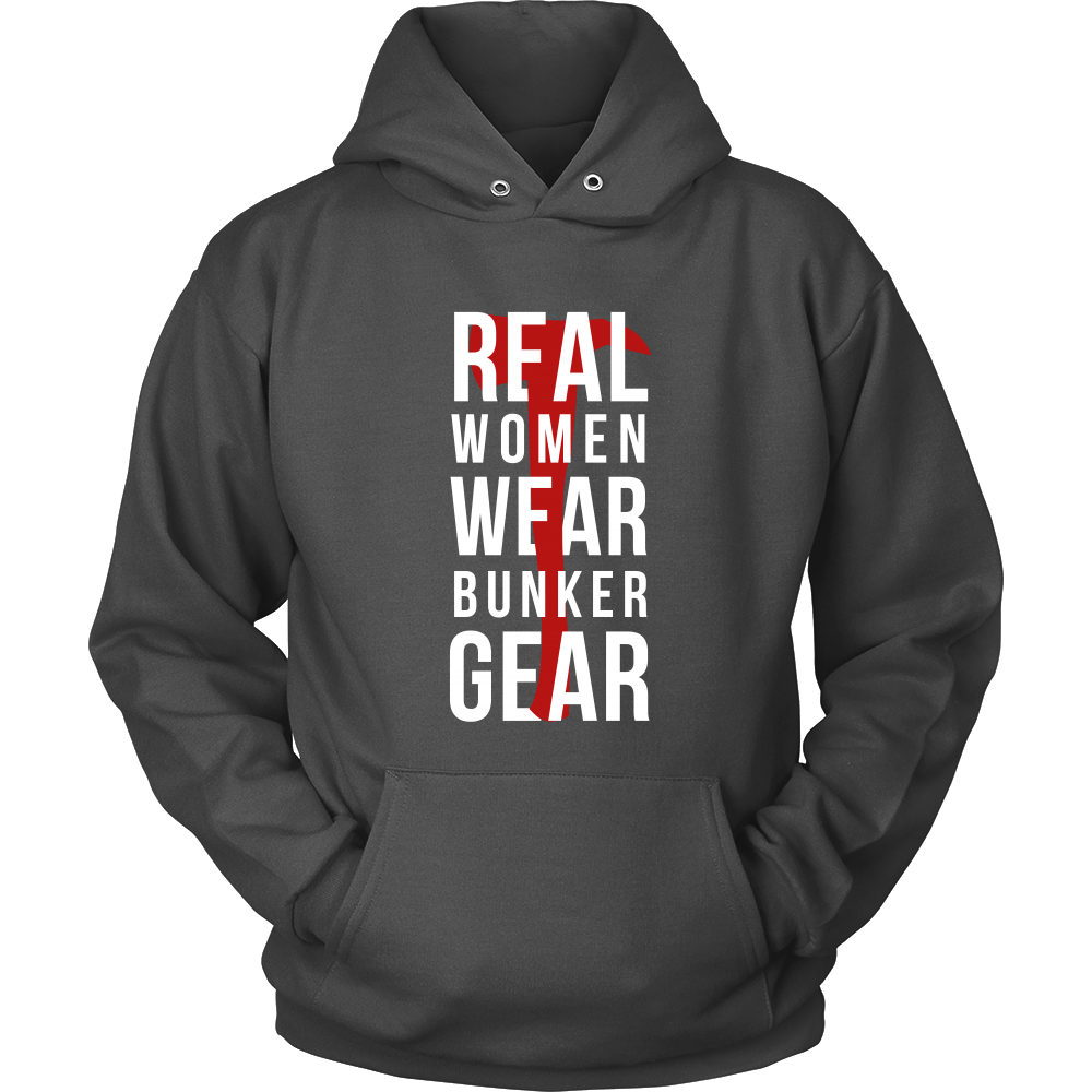 Cover your body with amazing Firefighters t-shirts .Real women wear Bunker  Gear.
