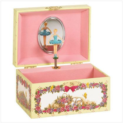 Music BoxSimply walk over to your musical box and lift the lid The