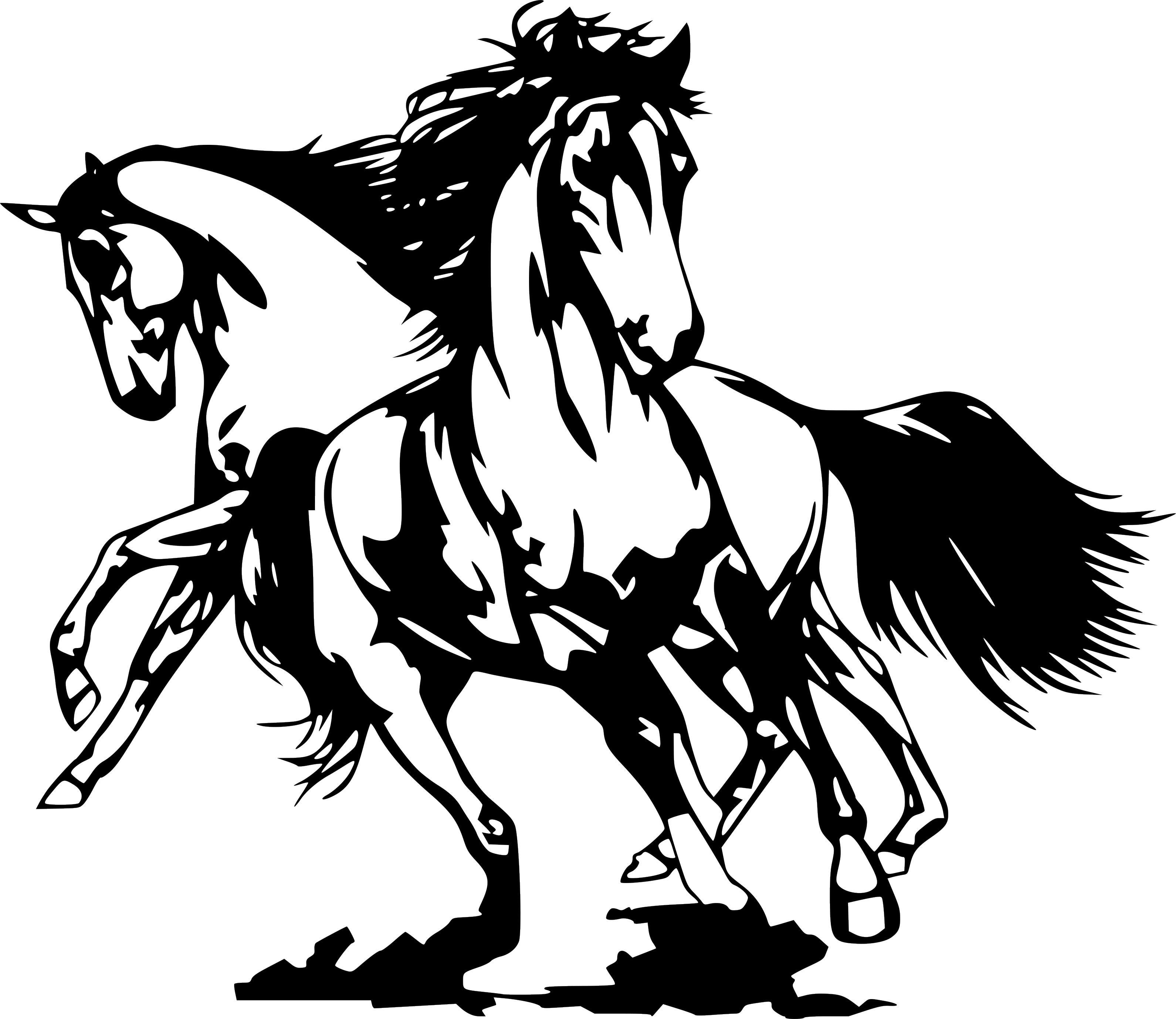 Details About Horse Wild Horses Running Art Car Truck Wall