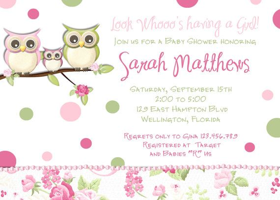 Pink owl girl baby shower invitation owl family invite on etsy pink owl girl baby shower invitation owl family invite on etsy 1800 filmwisefo