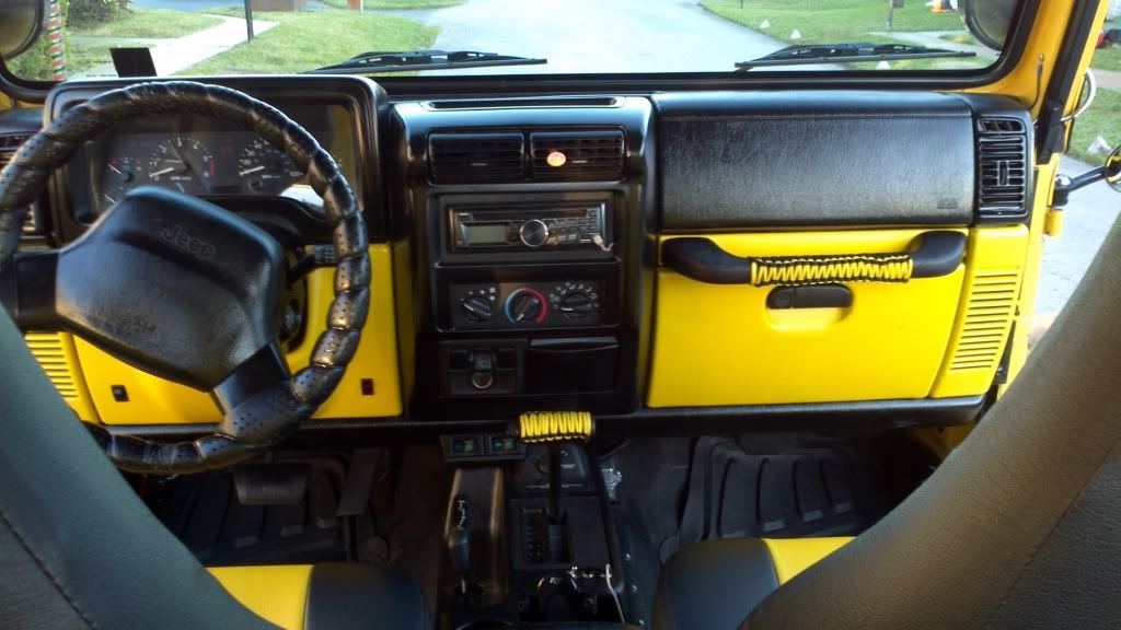 Jeep Tj Interior Mods
