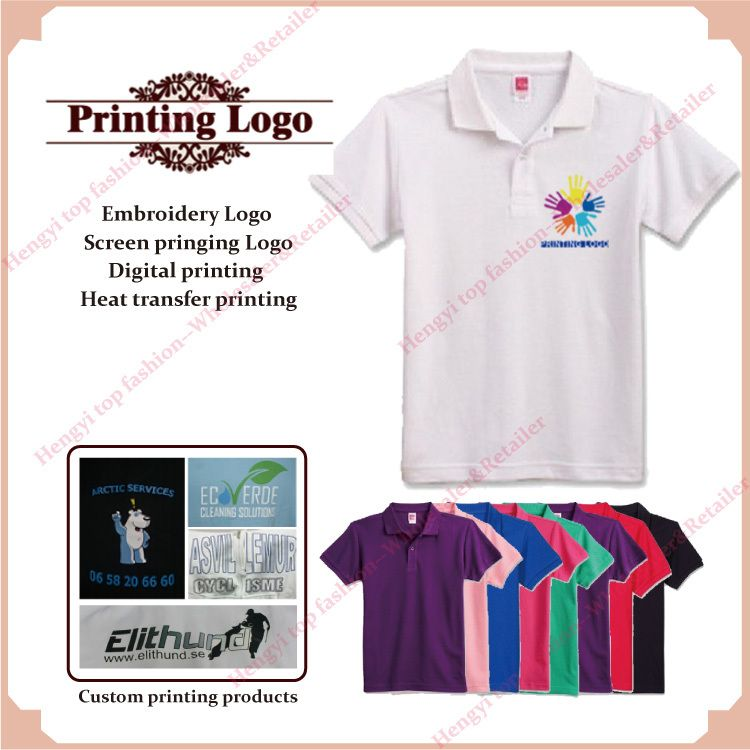 China Online Logo Maker High Quality Custom Logo Printing Embroidery