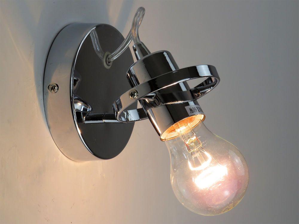 Luci da interno a parete top esterno esto light applique parete